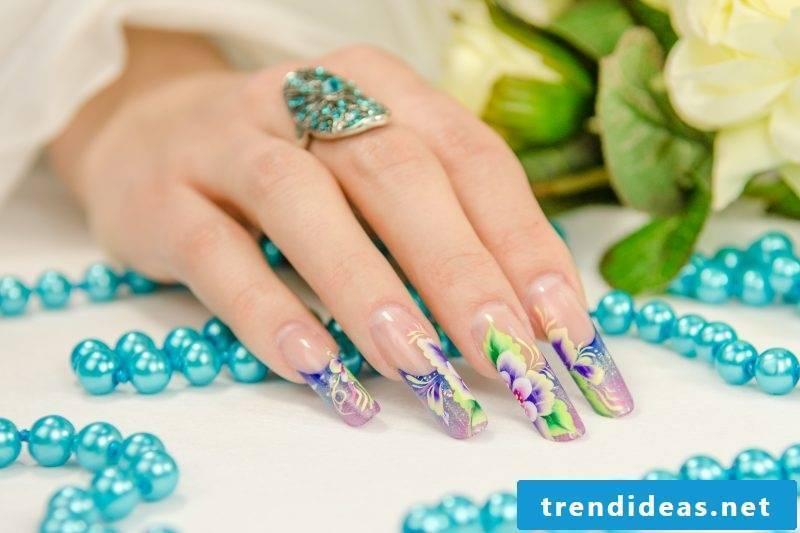 Nail modeling pictures: Buy best longer tips
