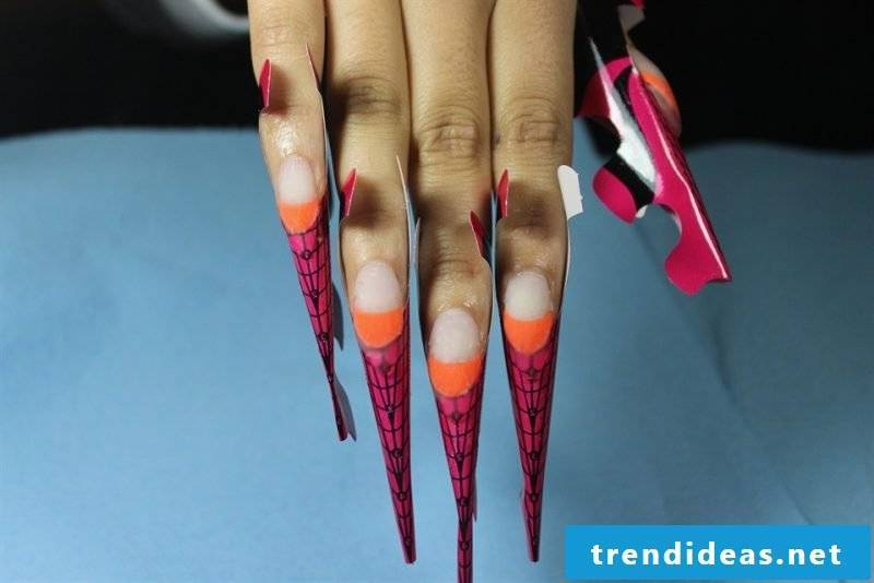 Nail Modeling Images: How to get to Acrylic Nail Design