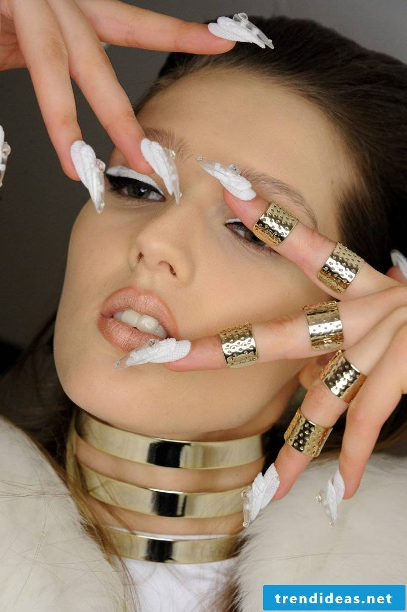 Nail modeling pictures