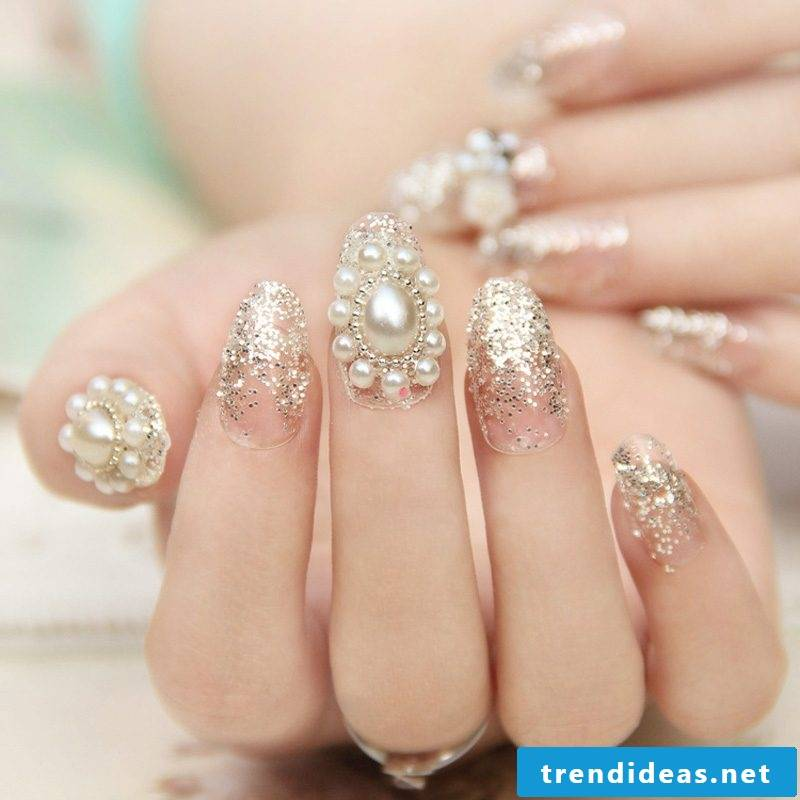 Nail modeling Images: Buy finished extension