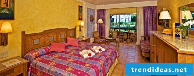 Mexican furniture bedroom interior design