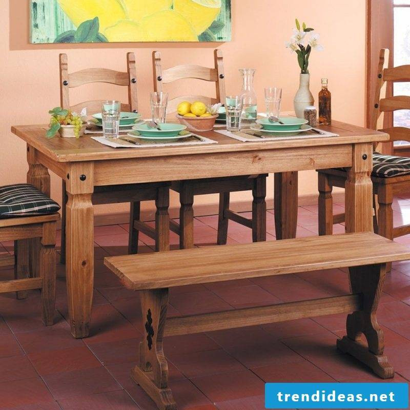 Mexican furniture dining room