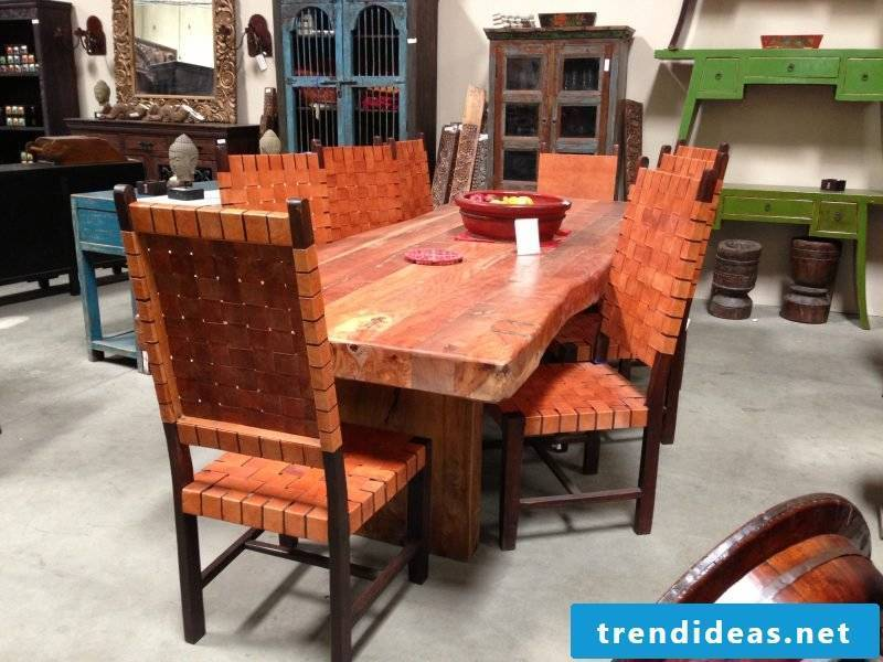 Mexican furniture dining table