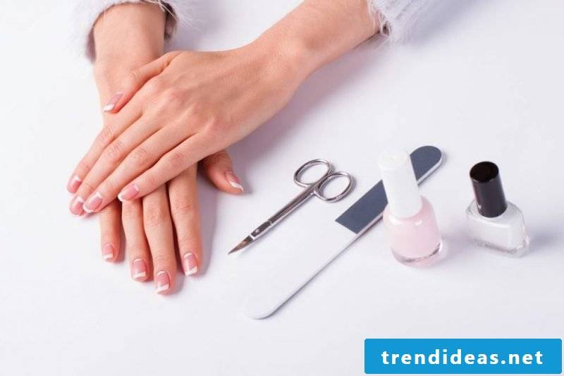 Nail art French manual