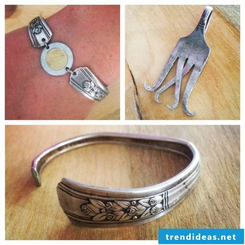 Silver cutlery vintage jewelry