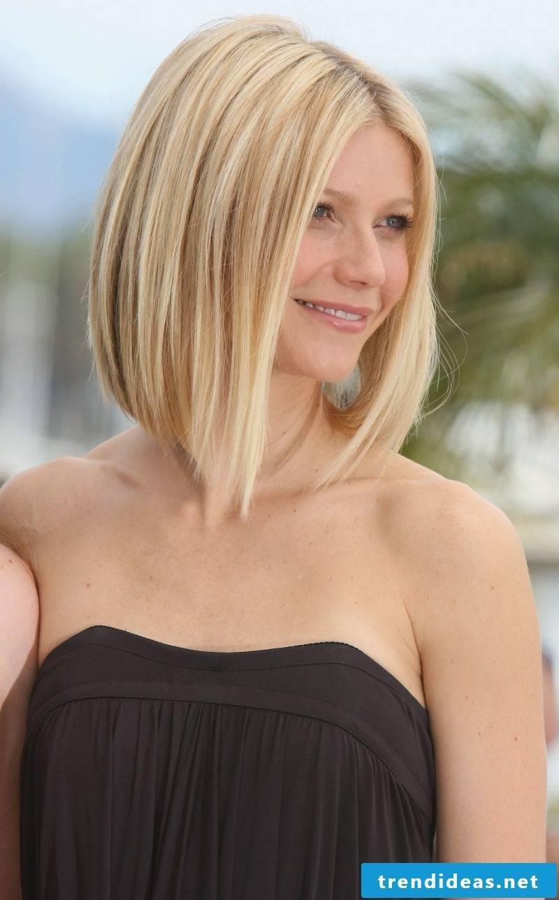 graded medium long hairstyles smooth