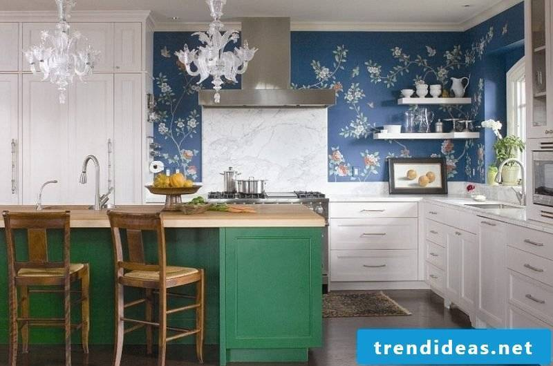 kitchen wall design creative