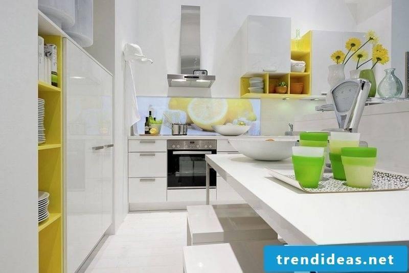 Kitchen wall design interesting