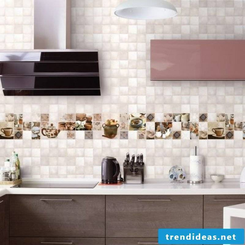 kitchen wall design stylish