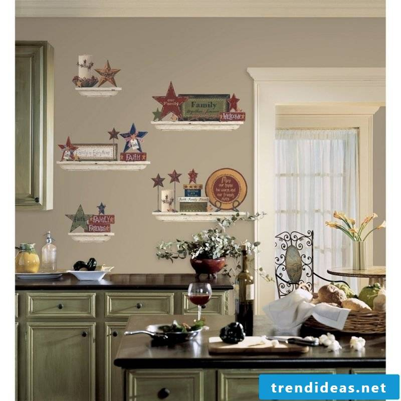 kitchen wall design classic