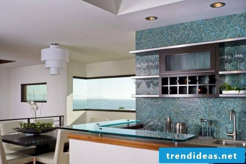 kitchen wall design modern