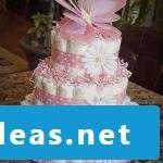 Instructions diaper cake Rosa