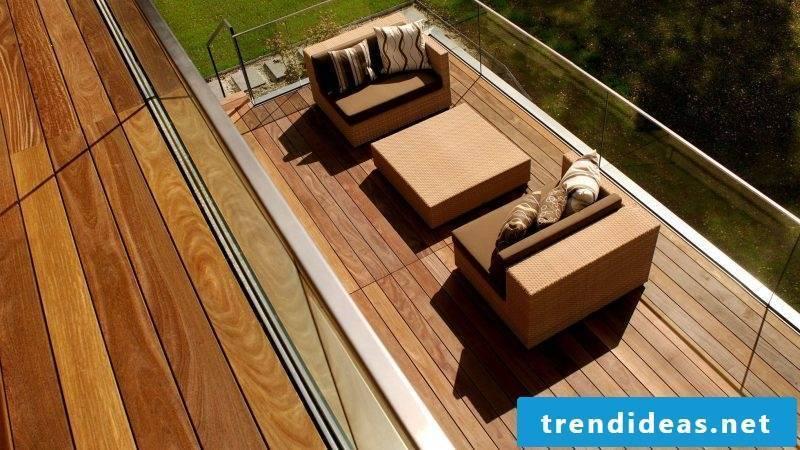balcony floor attractive