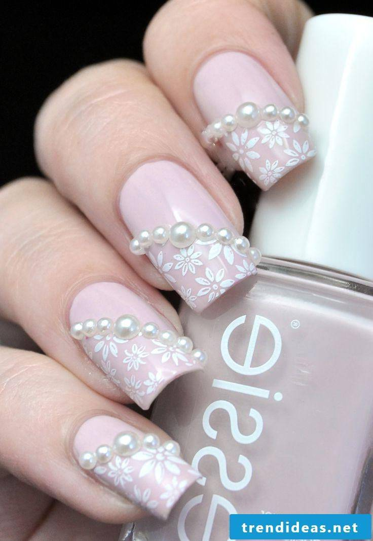 wedding nails nice