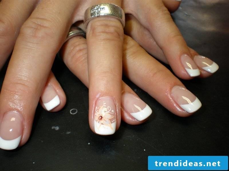wedding nails unique