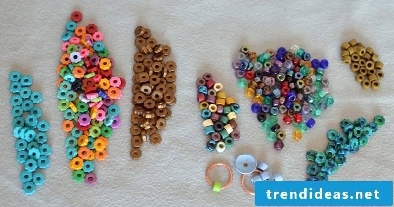 decorated bracelets