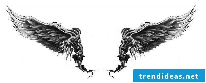 tattoo template-free - wing