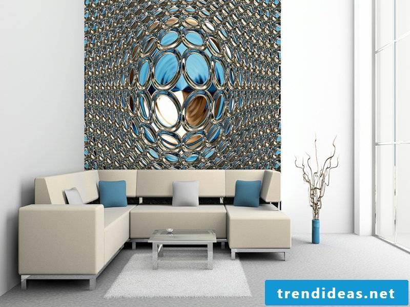 modern wallpaper as in a dream