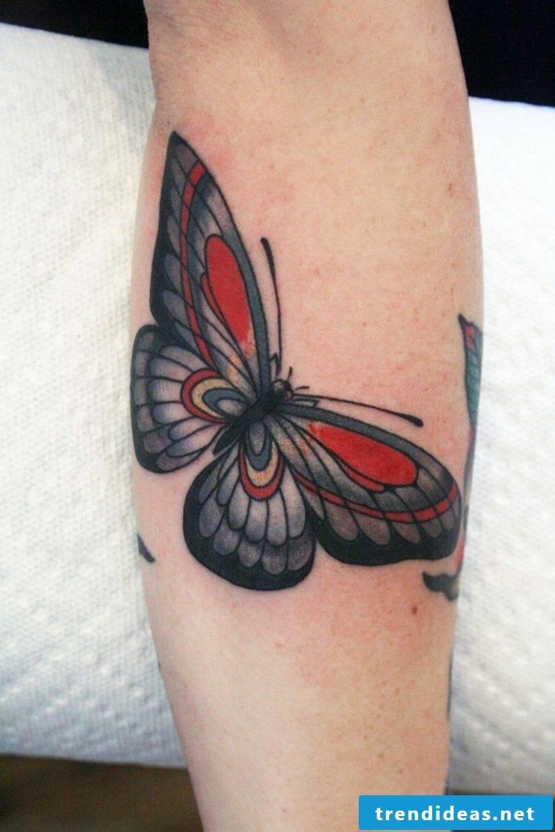 big butterfly tattoo