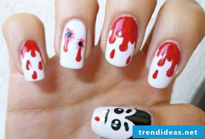 Nail art design for Halloween nail stickers