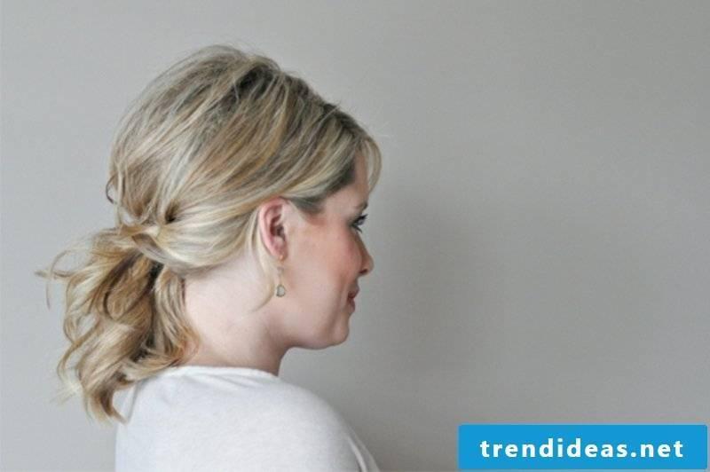 interesting ponytail