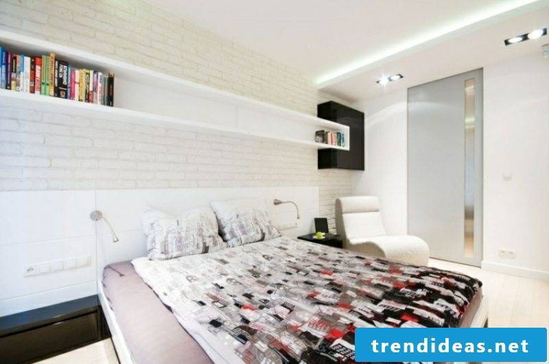 Indirect LED lighting bedroom