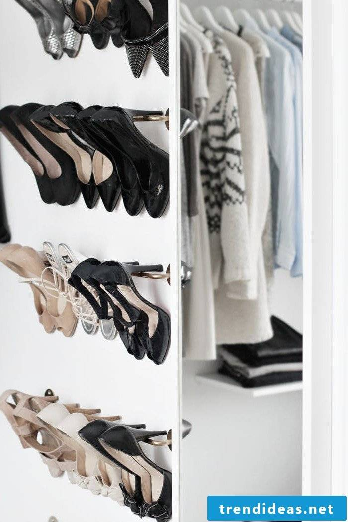 Dressing room with Ikea wardrobe