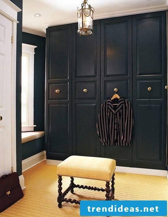 Ikea wardrobe in a rustic style
