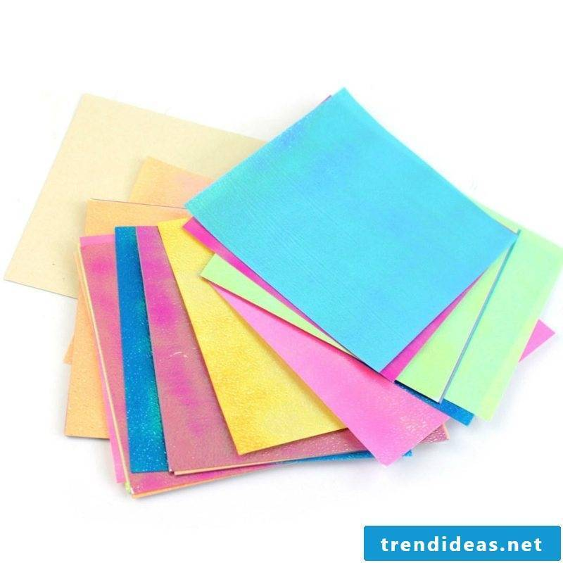 origami rose instruction sheets colorful