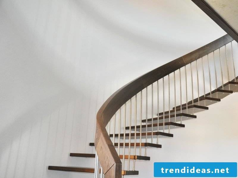 The bolt stairs can be attached to masonry