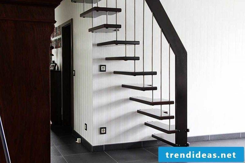 Bolt Staircase is suitable for both small and large rooms