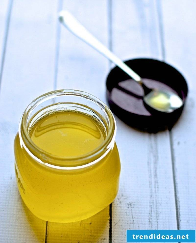 ghee itself make butterfat