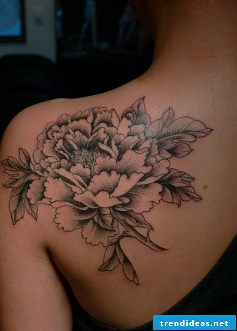 Tattoos flowers and their symbolism