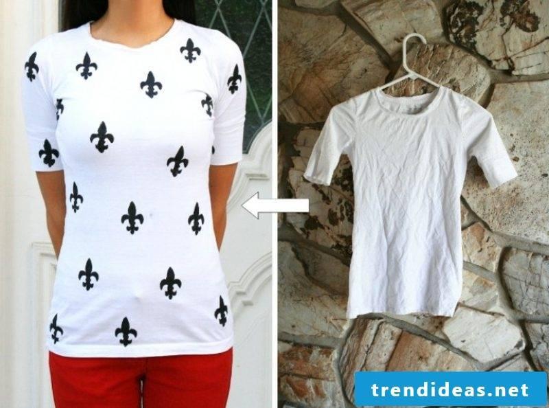 DIY self print T-shirts
