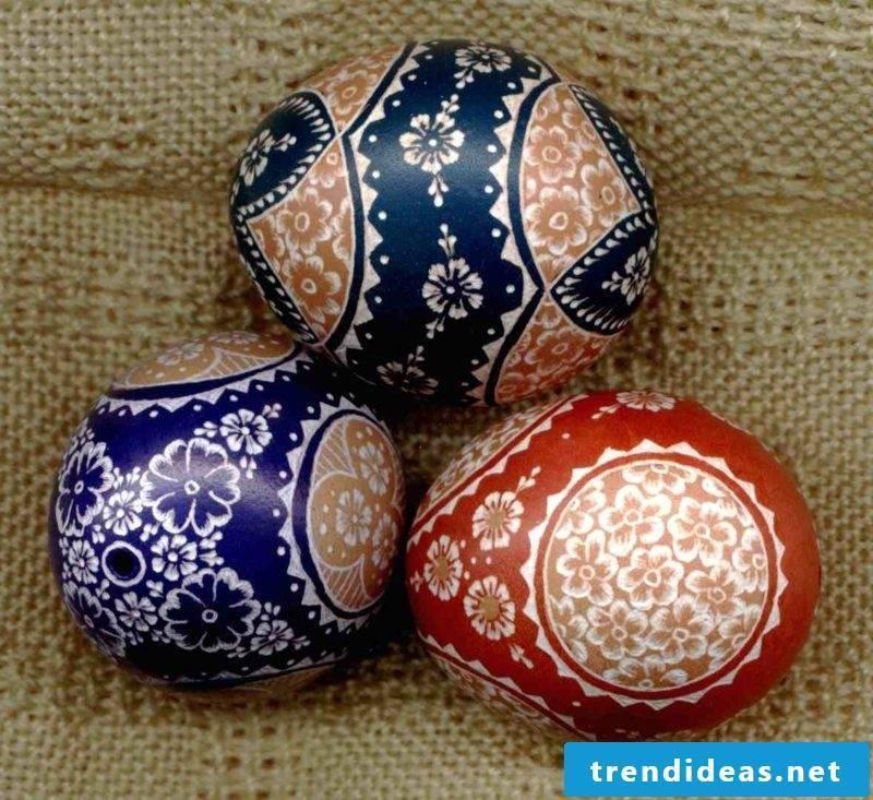 DIY ideas Sorbian easter eggs