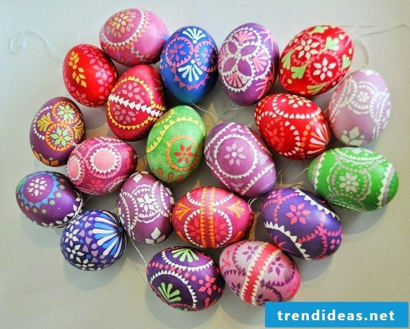 Sorbian easter eggs creative decorating ideas