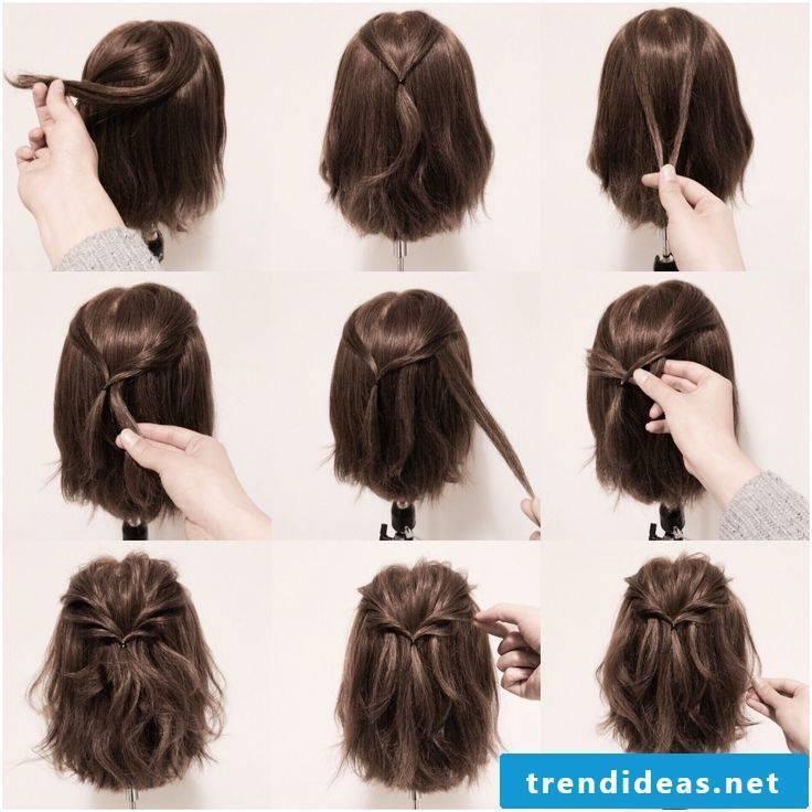 Communion hairstyles Short hair