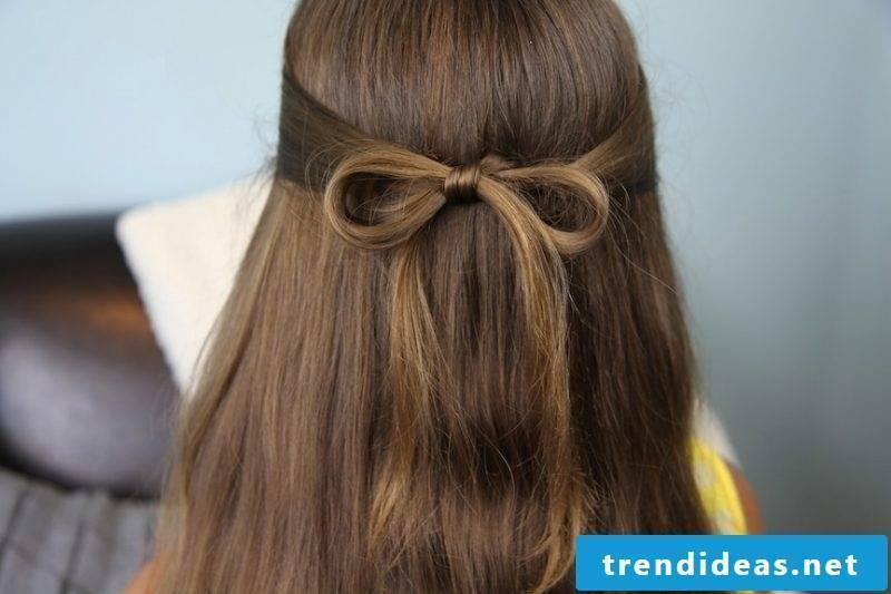 Communion hairstyle loop