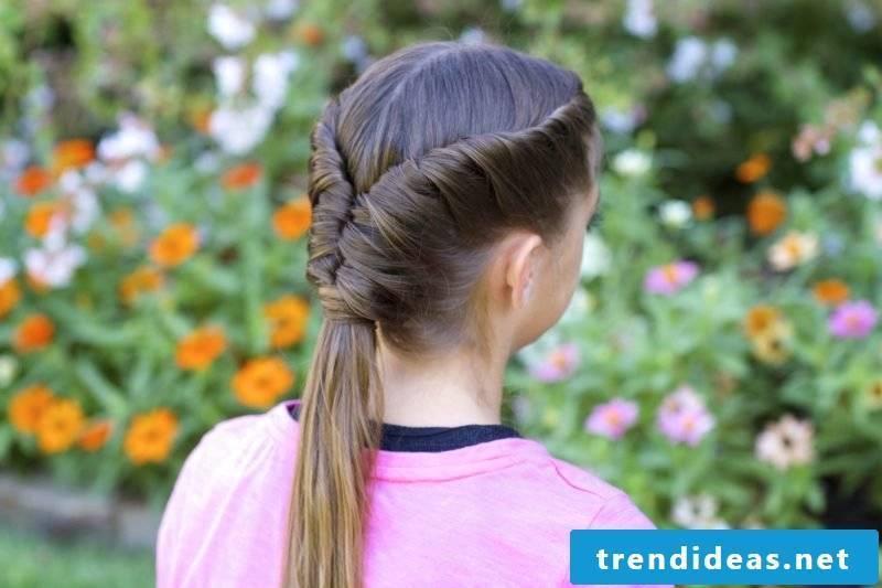 Communion hairstyles Tornado