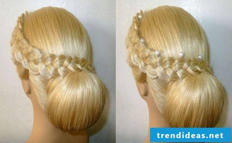 Communion hairstyles Dutt