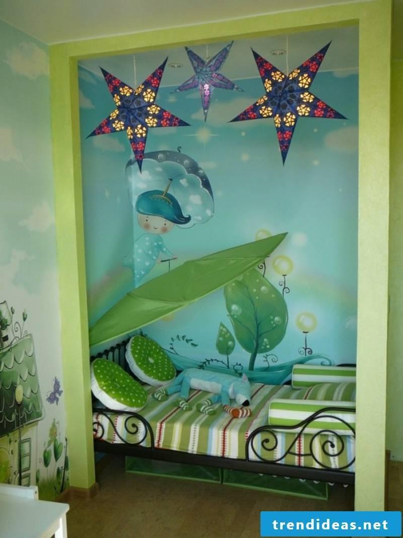 interesting nursery decoration