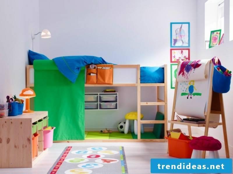colorful nursery