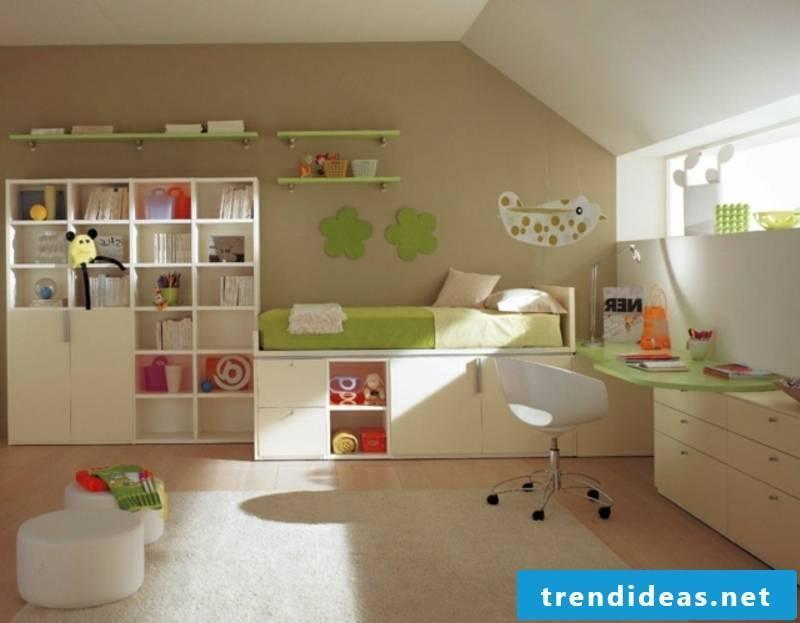 colorful nursery design