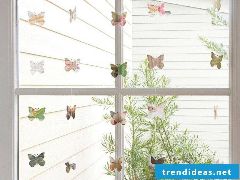 Crafting ideas for adults make window decoration itself