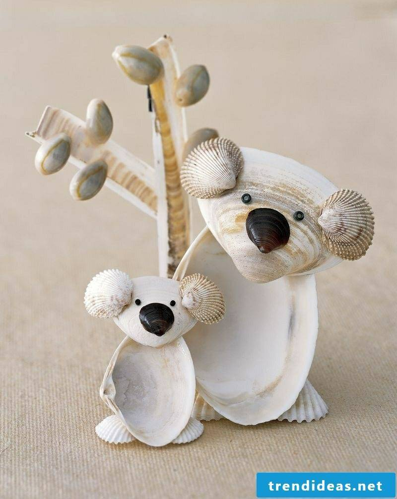 Crafts ideas with seashells summer