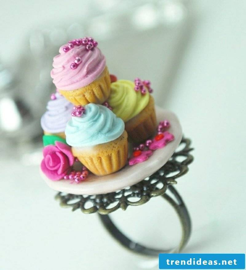 Gifts make ring modeling clay