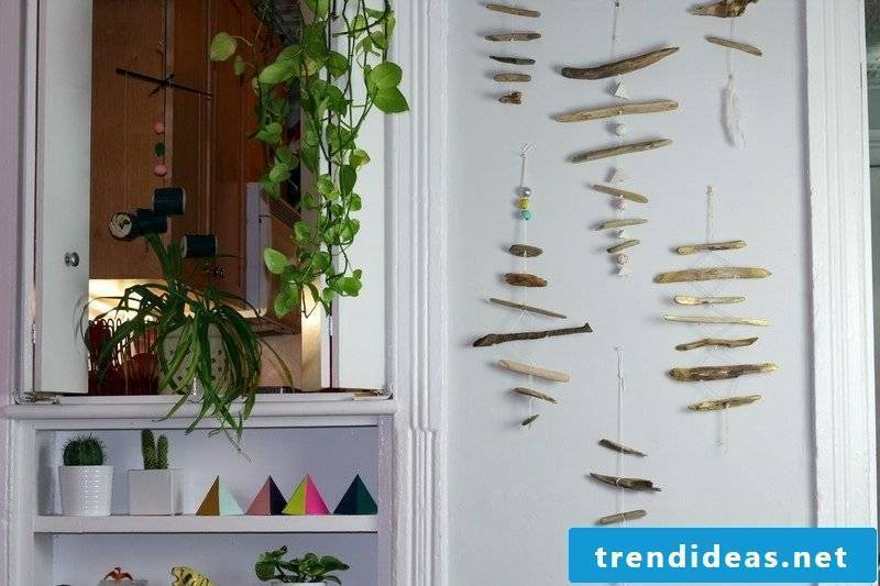 Handicraft ideas for adults Make wall decoration yourself