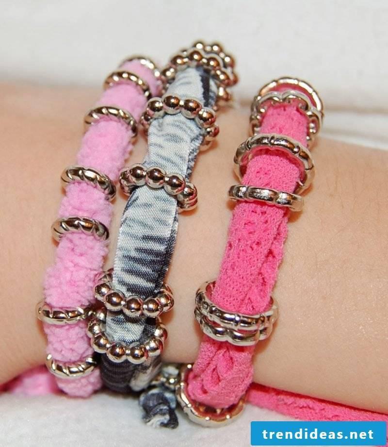Bracelets make unique