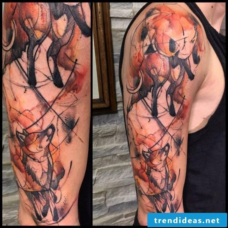 clouds tattoo tattoo nicole