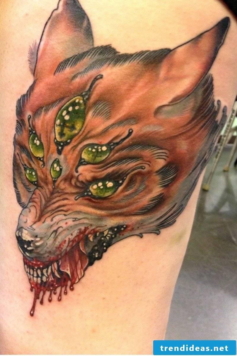 Fox Tattoo Hasselich